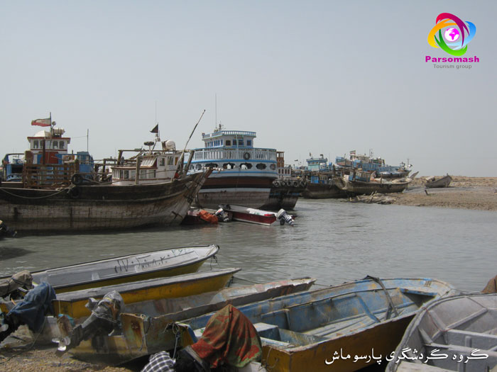 خلیج فارس+دیلم+گناوه